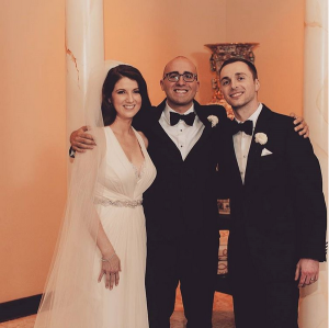 Got to officiate the wedding of Alyse and Dimitry – St. Louis, MO April 2015