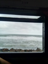 View from the seaside train (Sri Lanka)