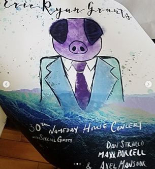 The poster for the 30th Birthday Concert
